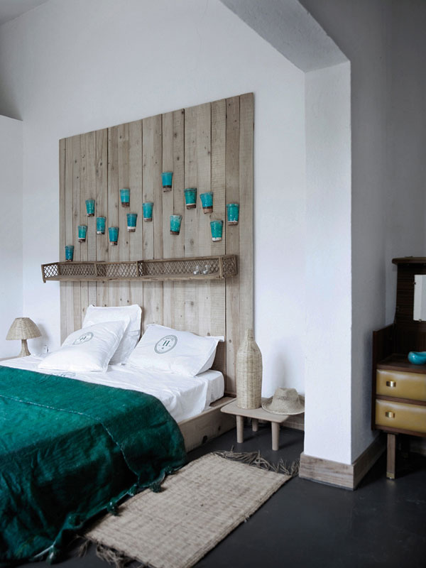 35 классных идей для спинки кровати