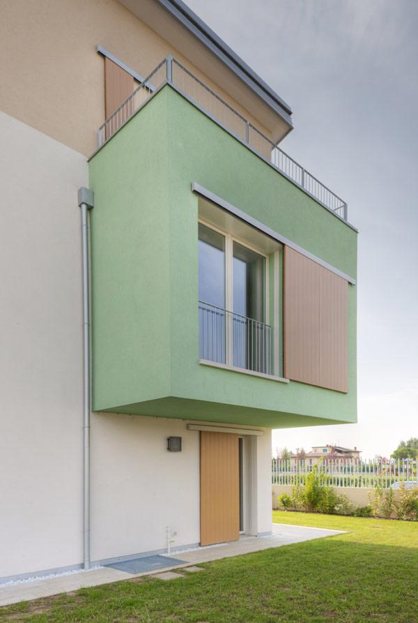 Устойчивый жилой комплекс в Вероне