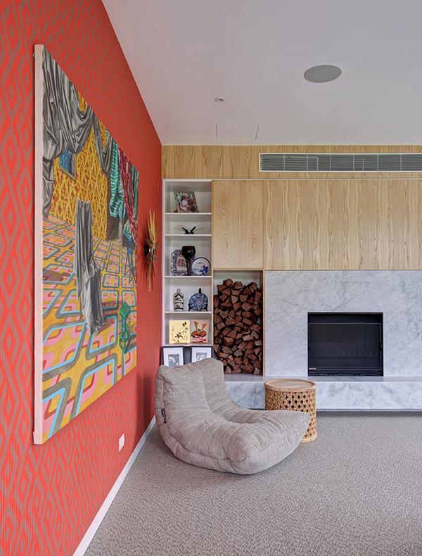 Современный и теплый интерьер особняка в Австралии