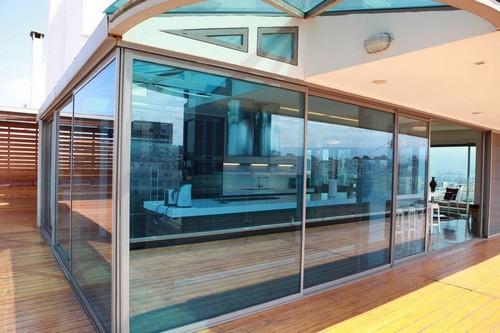 Творческая квартира на крыше с восхитительным видом на город