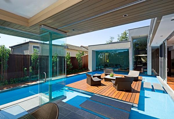 Великолепный современный дом, вдохновленный летом