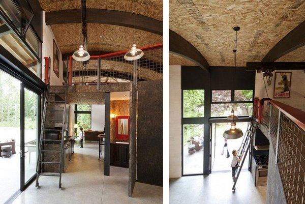 Гибкий дом, разработанный для художника