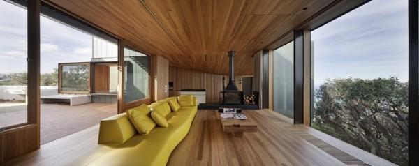 Объемный дом, демонстрирующий прямоугольные формы
