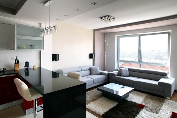 Квартира в Словакии – вихрь современных деталей