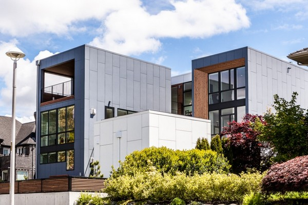 Просторный и яркий современный дом в Сиэтле, разработанном для молодой семьи