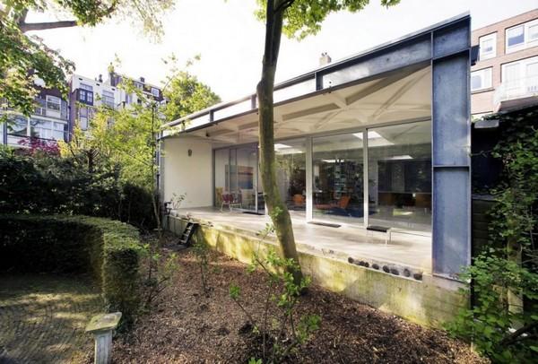Креативная планировка: коттедж с парком в Роттердаме