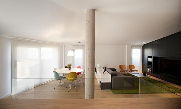 Оригинальный дизайн квартиры для молодой пары: 0710 Дуплекс PZG
