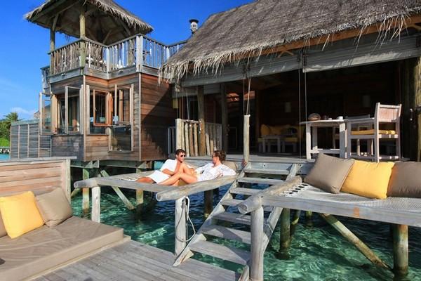 Эксклюзивный отдых на уединенном коралловом острове: Gili Lankanfush, Мальдивы