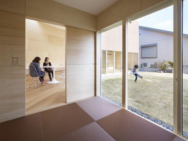 Дом-студия с интригующей планировкой