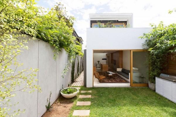 Природа вторглась в жилье в Сиднее, Австралия: Бонди House