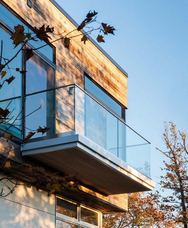Современная Резиденция с прозрачной интеграцией ландшафта в Оттаве, Канада