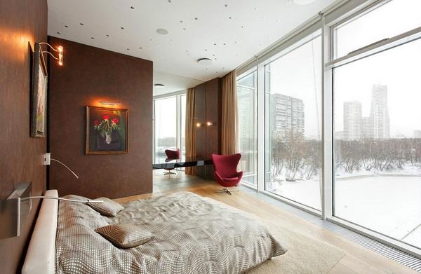 Московская квартира с роскошным чувством круизного корабля: лофт Стоунхенджа