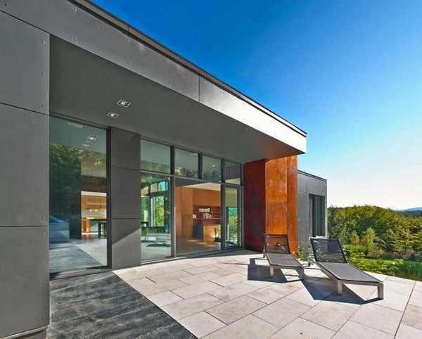 Впечатляющий современный дом в Канаде: T House