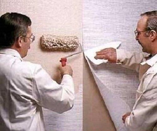 Как правильно нанести стеклообои на стены