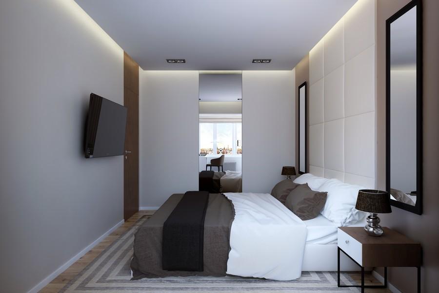 Стильный дизайн квартиры в Санкт-Петербург от GEOMETRIUM