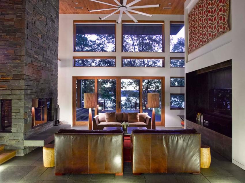 Дом RiverBanks созданный для семейного отдыха в выходные