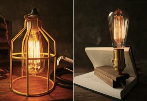 Хэндмэйд: лампа в сельском стиле