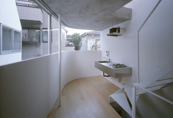 Оригинальный жилой дом в Токио