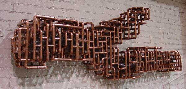 Как медная трубка может быть преобразована в элемент искусства