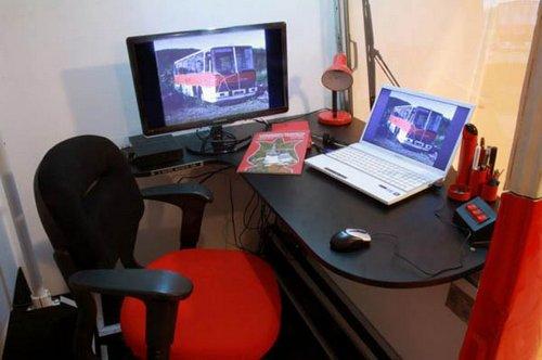 Офис из старого «Икаруса»