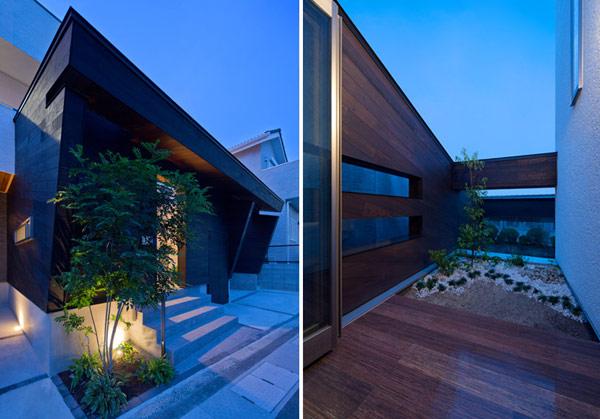 Хороший пример современной японской архитектуры