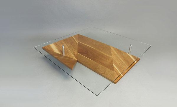 Элегантный, экзотичный журнальный столик оригами