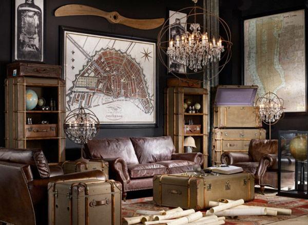 20 творческих и вдохновляющих эклектично-старинных проектов помещения Тимоти Ултона