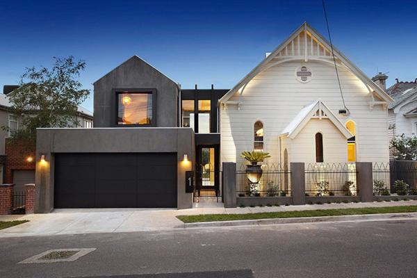 Англиканская церковь превратилась в современный причудливый дом