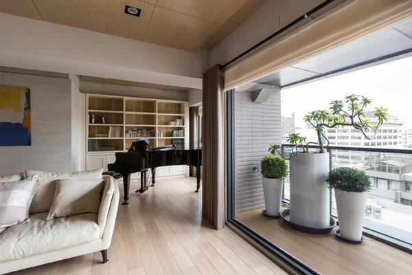 Изящная квартира, отдающая дань Искусству и музыке