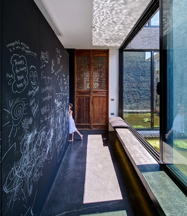 Современный дом с упрощенным художественным оформлением в Мельбурне, Австралия