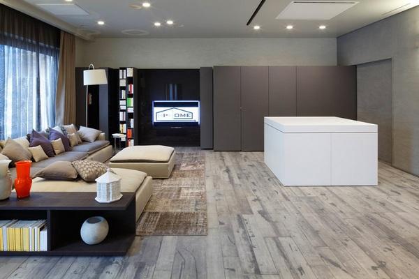 Современный энергосберегающий типовой дом Andrea Castrignano