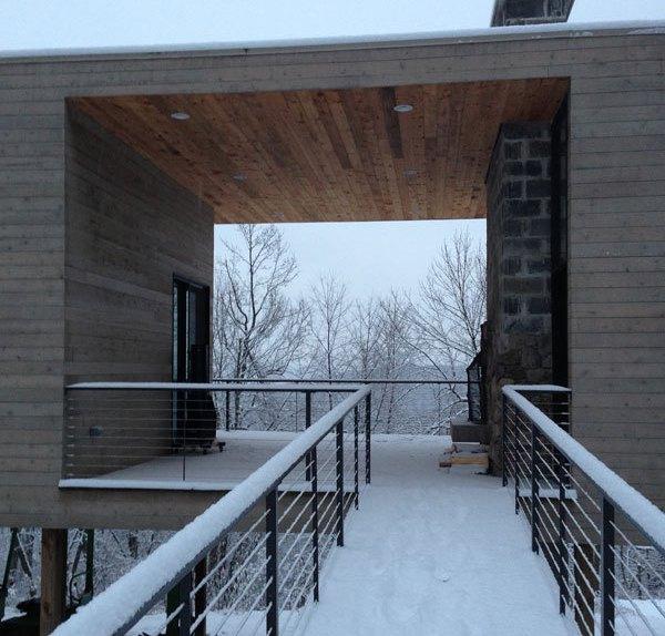 Дом студия для художника в Пенсильвании