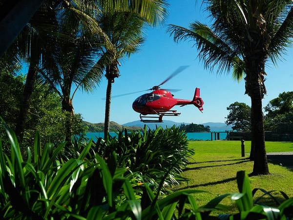 Роскошные павильоны, гармонирующие с морскими водами. Австралия.