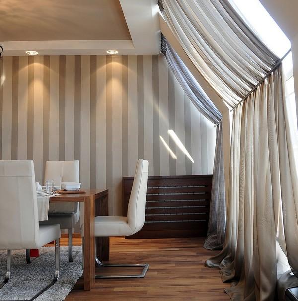 Преобладание современных текстур: пентхаус в Белграде