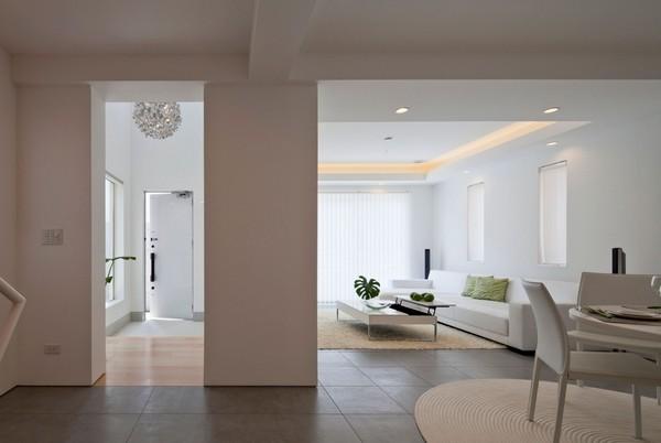 В поисках баланса и спокойствия: современный дизайн дома в Токио