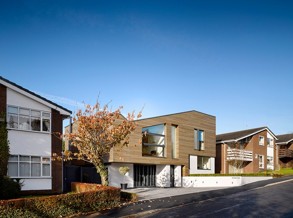 Современный и теплый дом с наружной облицовкой от Студии Стивенсона