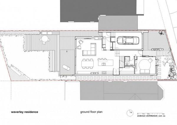 Великолепный Современный отель, создающий интересный ассиметричный фасад,  в Сиднее