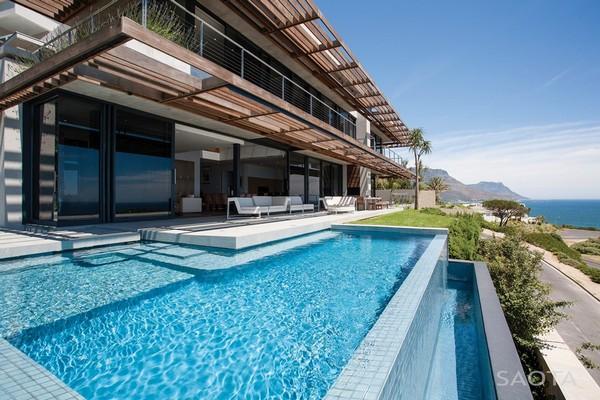 Экстравагантное Современное жилье в Южной Африке: Проект SAOTA s Kloof 151