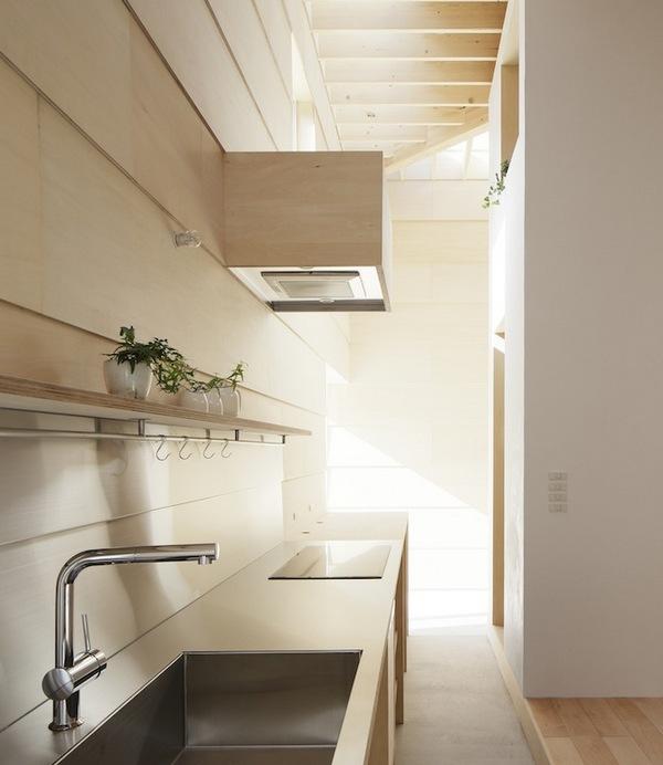 Дом Светлых Стен в Японии