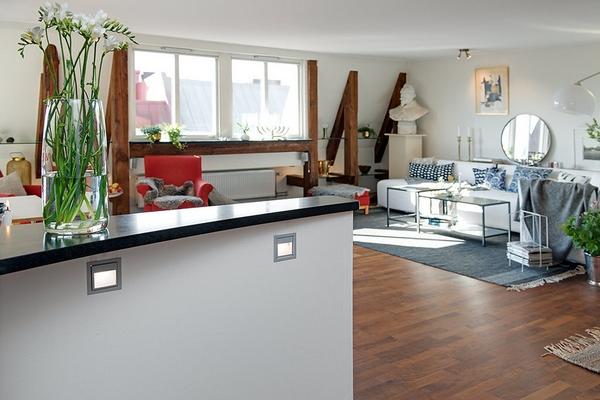 Шведская квартира с очаровательным деревенским оформлением