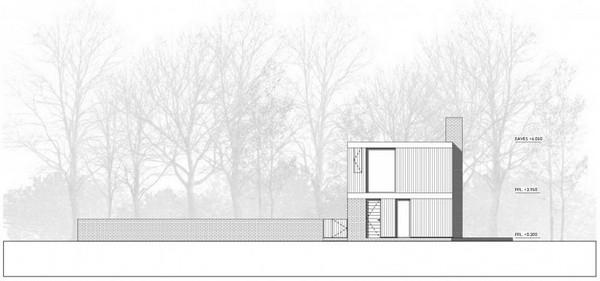 Современный дом для отдыха в графстве Хэмпшир, Англия: проект Woodpeckers
