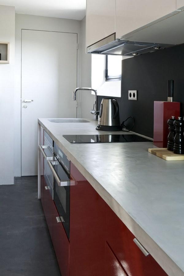 Небольшая квартира в Париже, демонстрирующая оптимизированные 16 м² пространства
