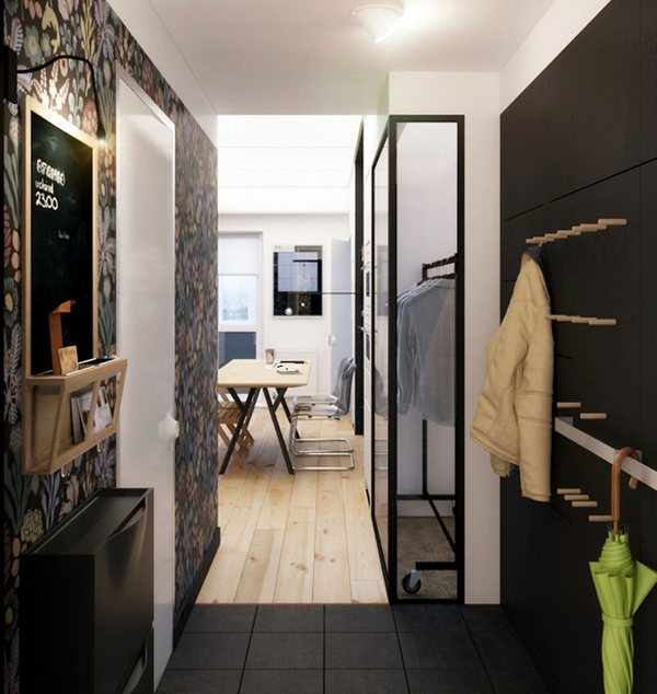Шикарные апартаменты: контраст света и тени от Натальи Акимовой