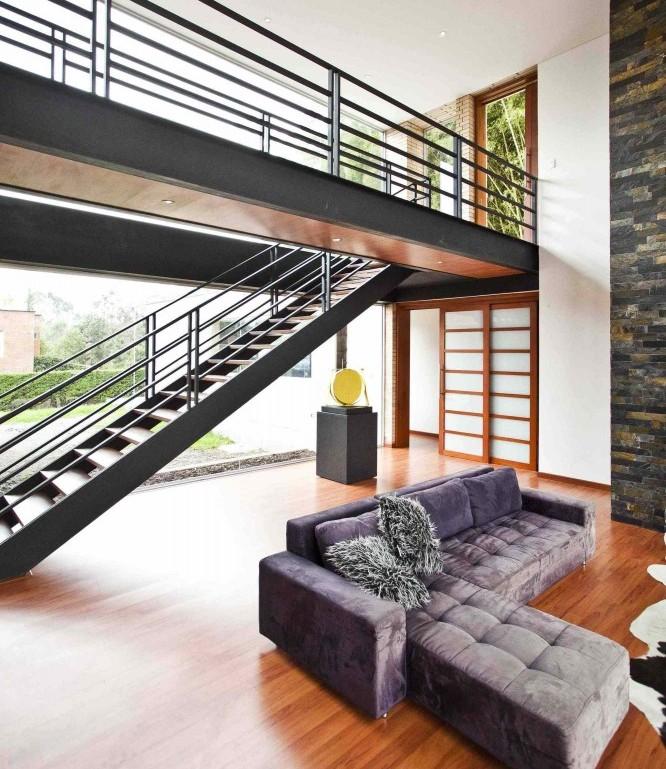 Проект, внушающий спокойствие: дом в Олайе, недалеко от Медельина, Колумбия