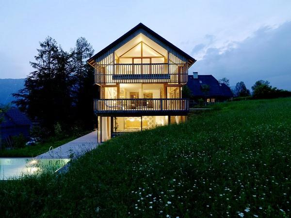 Замечательный воздушный дом из дерева в Австралии