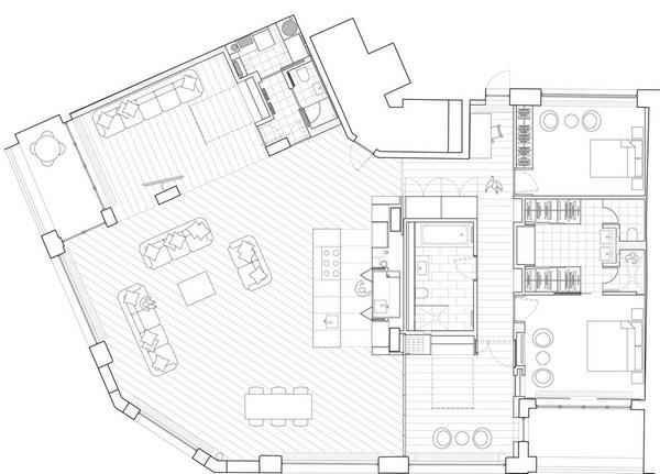 Современная квартира интерьер
