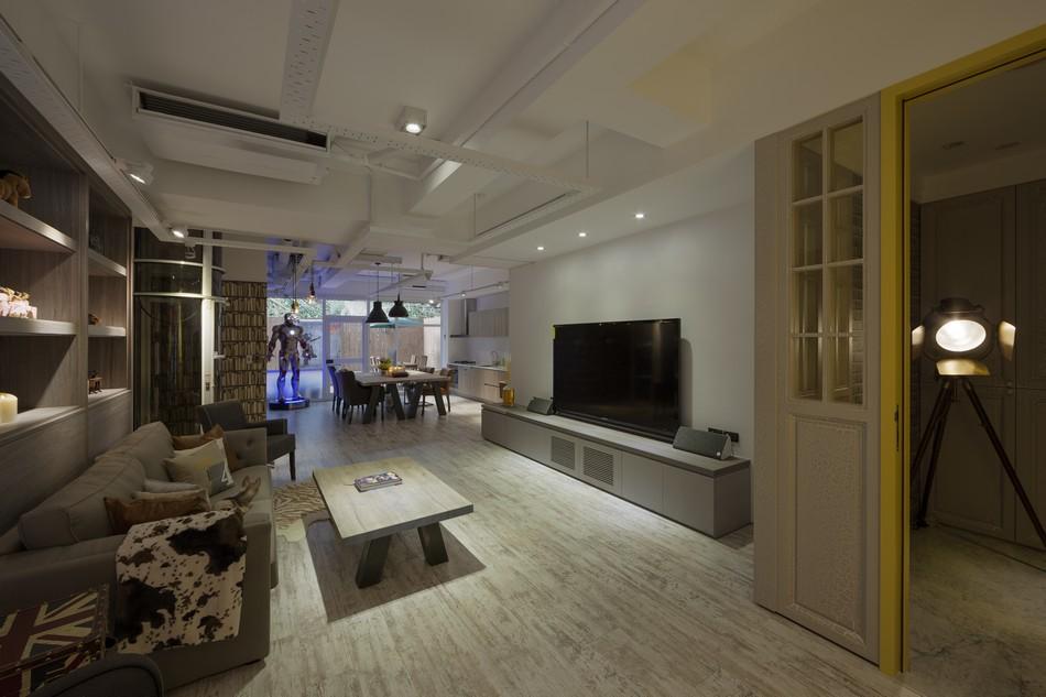 Футуристический дизайн квартиры, Тайбэй