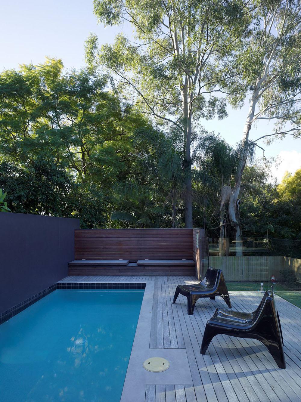 Сложный австралийский дом, отполированный до совершенства