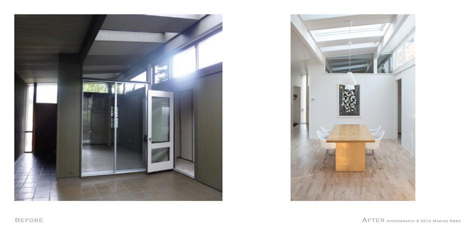 Вдохновляющая реконструкция большой комнаты