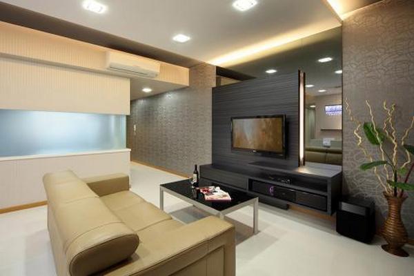 дизайн интерьера квадратной комнаты